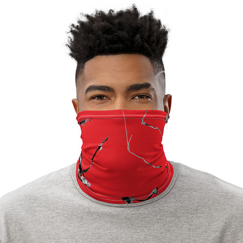 Broken Red Neck Gaiter