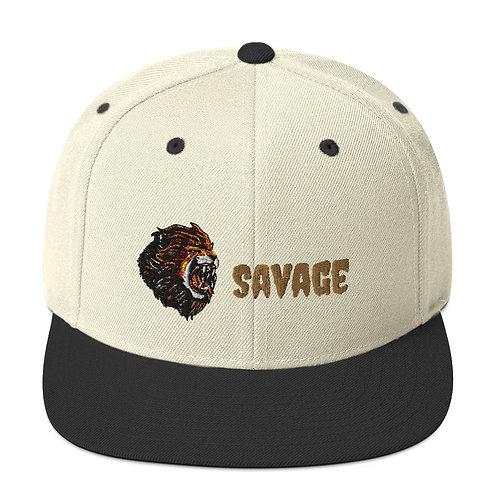 Savage Snapback Hat