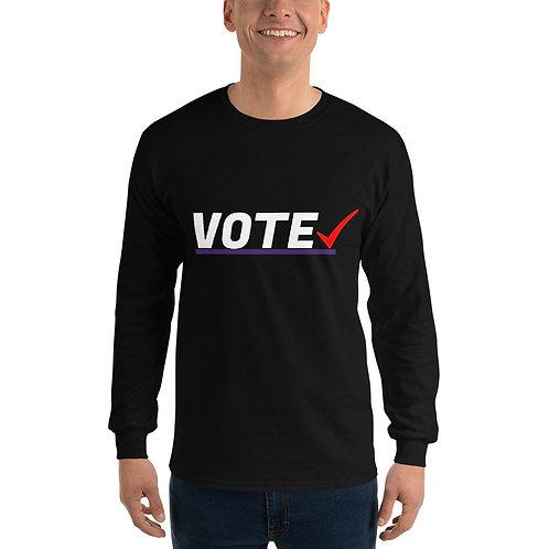 Vote Men's Long Sleeve Shirt