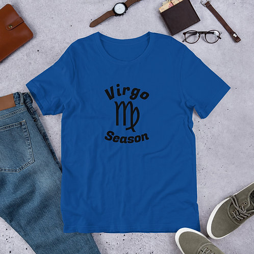 Virgo Season Short-Sleeve Unisex T-Shirt