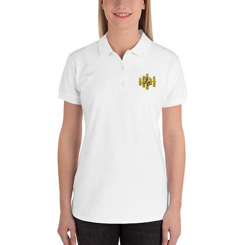 LG Custom Designz Embroidered Women's Polo Shirt