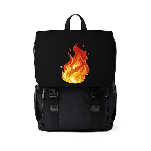 Flame Casual Shoulder Backpack