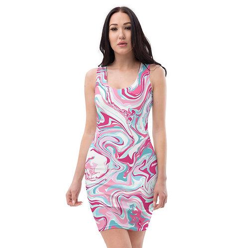 Pink Bubble Gum Pop Dress