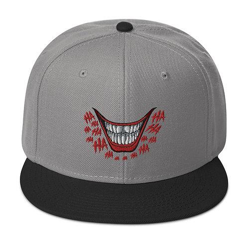 HA HA Snapback Hat