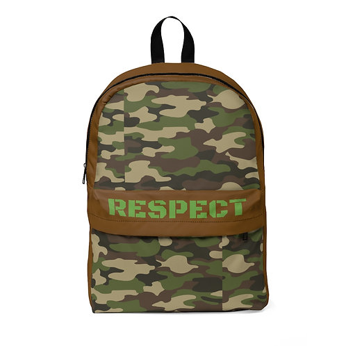 RESPECT the CAMO Classic Backpack