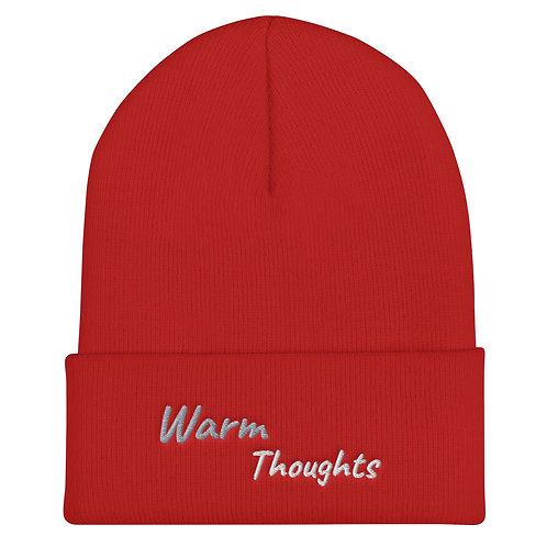 Warm thoughts Cuffed Beanie