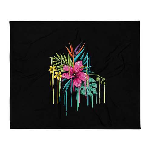 Flower Throw Blanket(Contact us for customization)