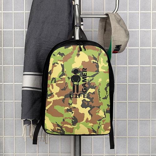 Camo Gamer Life Minimalist Backpack