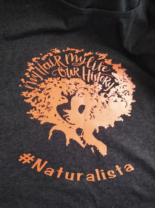 My Hair Our History...Naturalista Tee