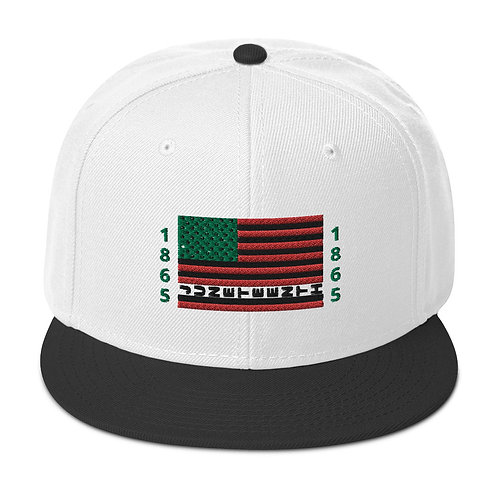 Juneteenth Snapback Hat copy