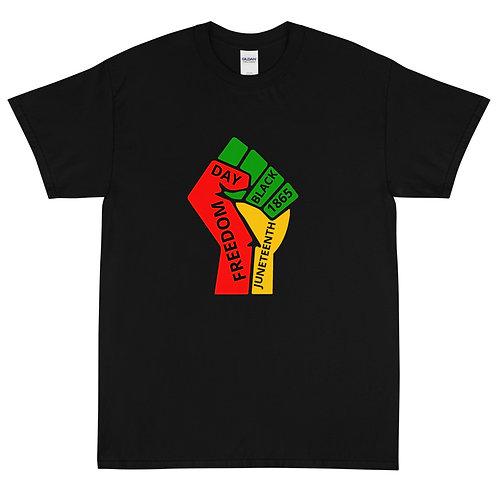 Juneteenth fist Short Sleeve T-Shirt