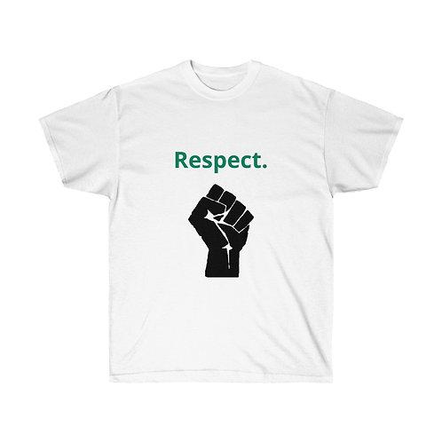 Respect blk fist Tee