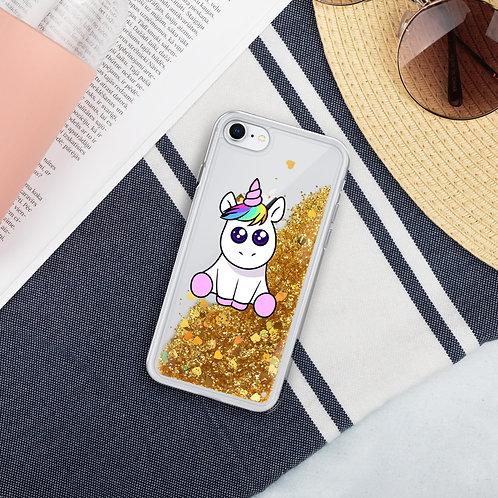 Unicorn Liquid Glitter Phone Case