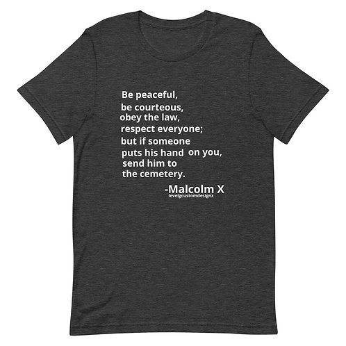 Be Peaceful...Be Courteous Tee