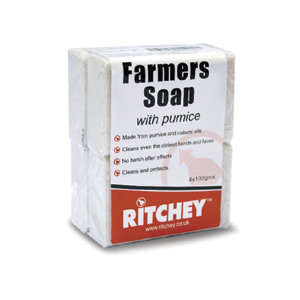 Farmers Soap with Pumice - 4 Pack