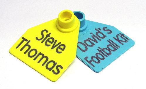 Sports Bag Name Tags