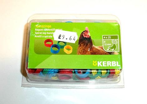 Kerbl - 100x Spiral Leg Bands