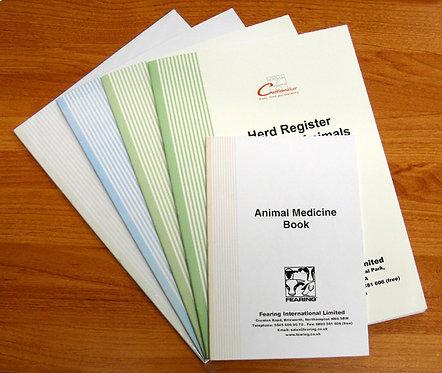 Farming Record Books