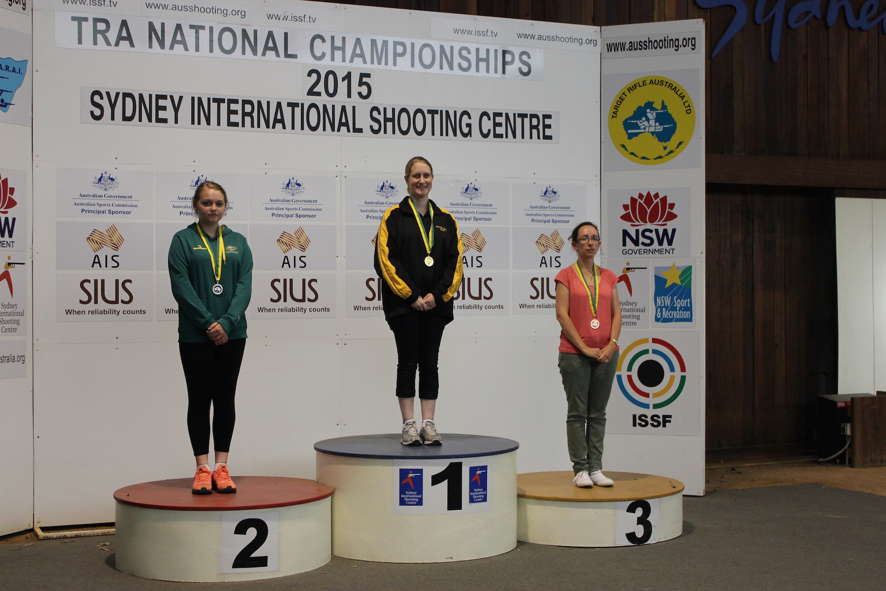 Air Rifle Women Podium