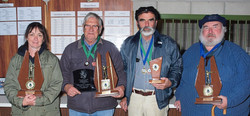 Silver City SBRC's Far West NSW Benchrest Championship winners Vanessa Tierney (