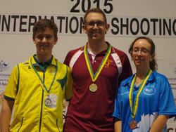 Open Air Medallists