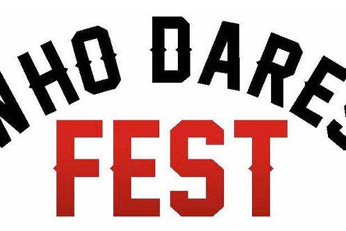 Who Dares Fest - Child Ticket (U16) Under 5's FREE