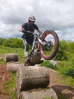 Trials Bike Training, Boulders, Rock Steps
