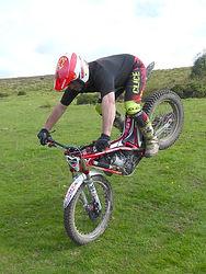 Stoppie Trials Bike