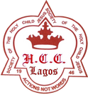 holy child college logo