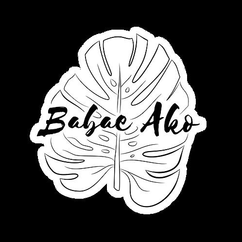 Babae Ako Sticker
