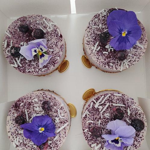 Blueberry Calamansi Cheesecake