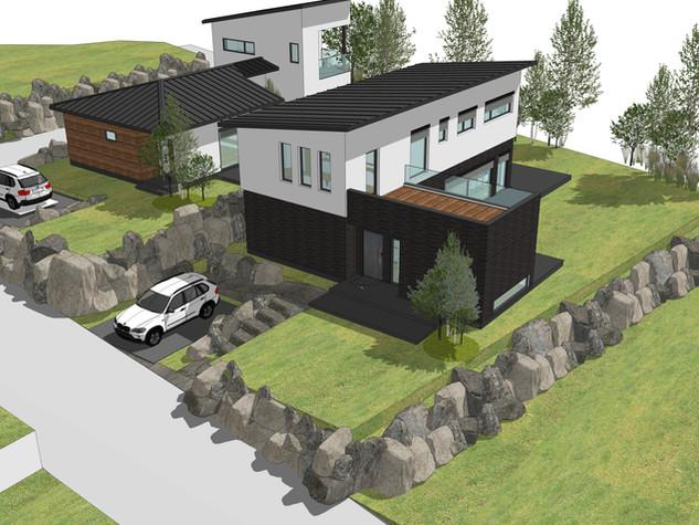 양평 저에너지 주택 설계과정