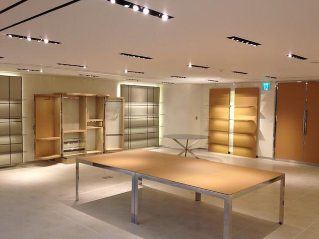 브랜드 쇼룸 인테리어 설계 및 시공