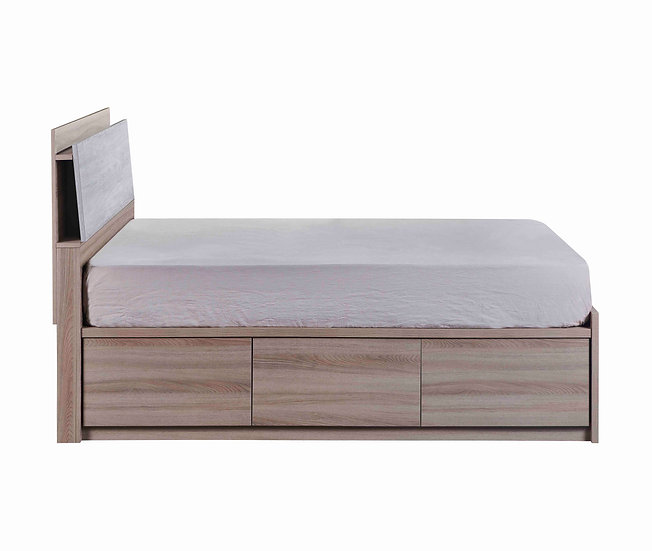 MIN Lys 3 Drawers Bed