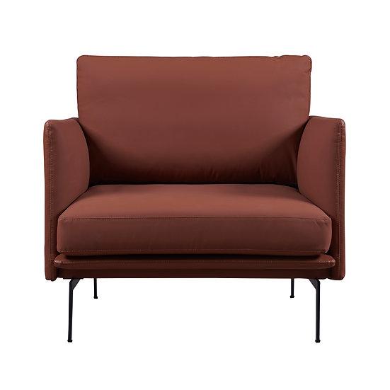 Skagen Leather Lounge Chair