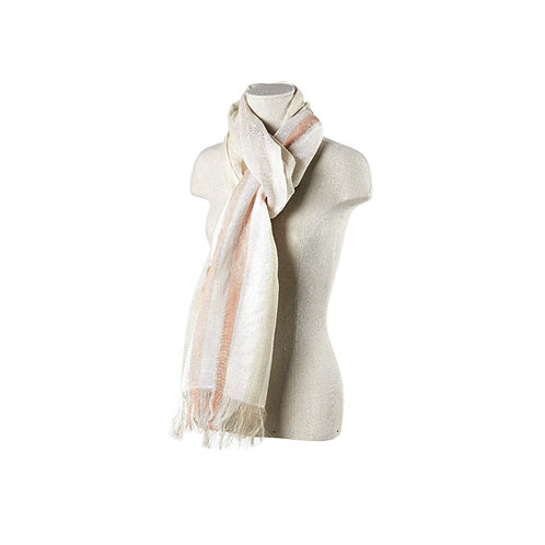 Libeco Nonza Shawl (large stripe)