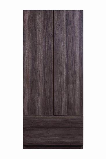MIN Mørk Wardrobe With Doors
