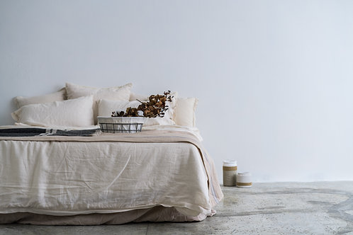 Linen Bedding Set (Double)