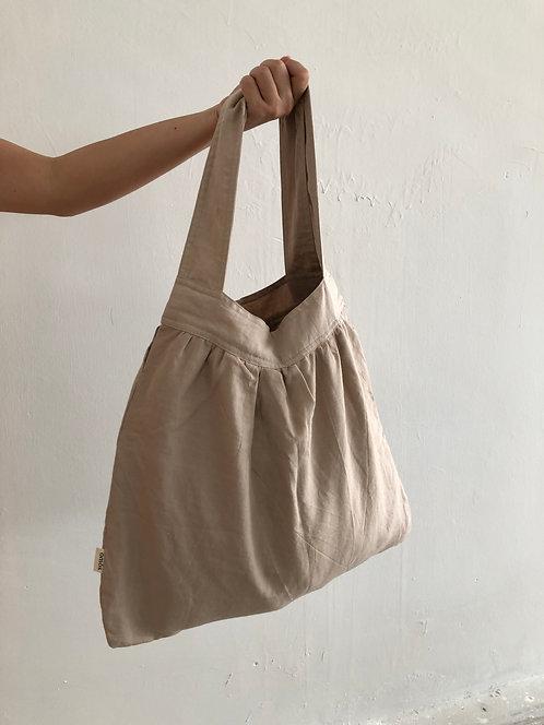 Sella Pleated Handbag