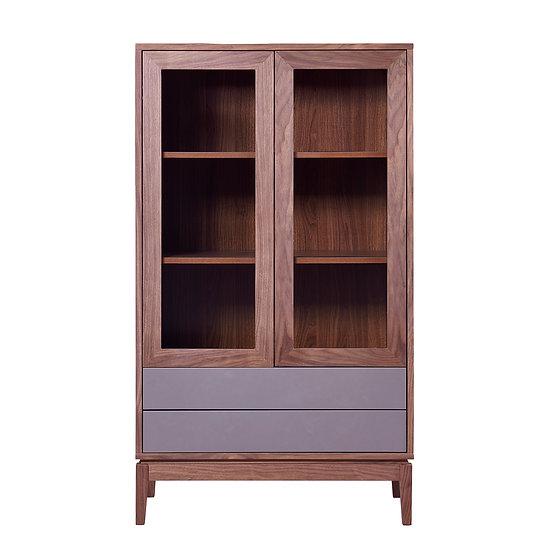 Haslev Glass Door Cabinet