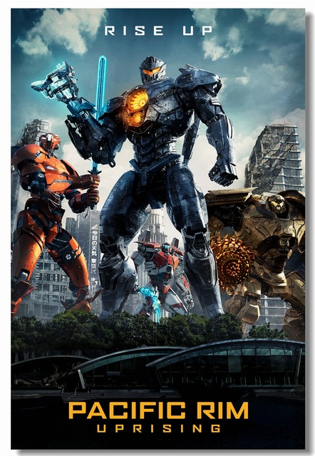 Custom-Canvas-Wall-Decor-Pacific-Rim-Poster-Pacific-Rim-Uprising-Wall-Stickers-Gipsy-Avenger-Wallpap
