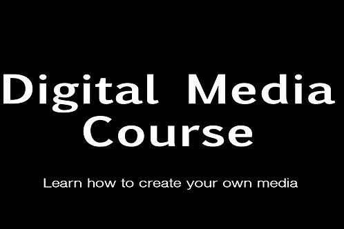 Digital Media Course