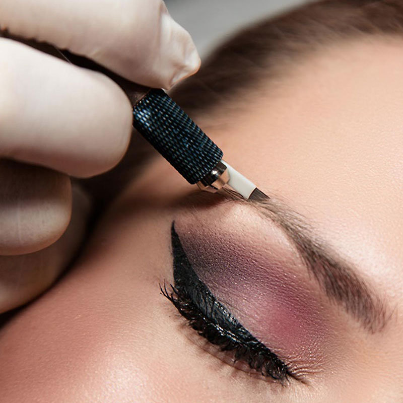 Microblading 3D Eyebrows with 1 touch up