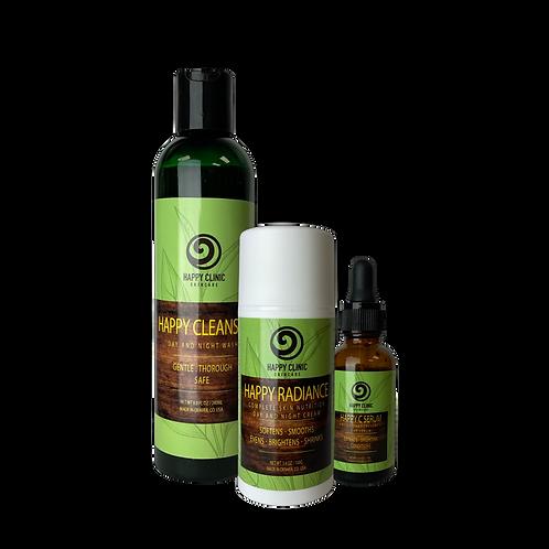 Happy Clinic® Skincare Happy Pack Trio