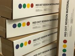 Bestil gerne flere pakker så I er klar til en Red Dot Session når som helst