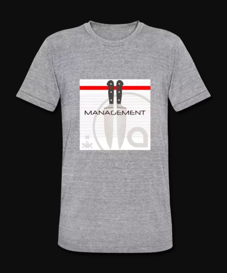 Management EP Tri Blend Grey