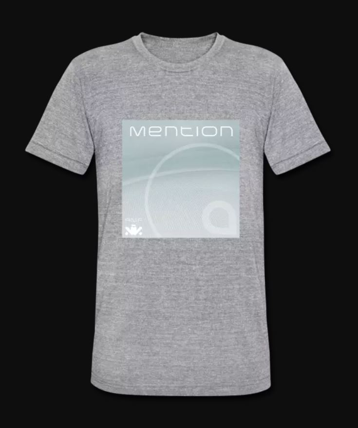 Mention EP Tri Blend Grey