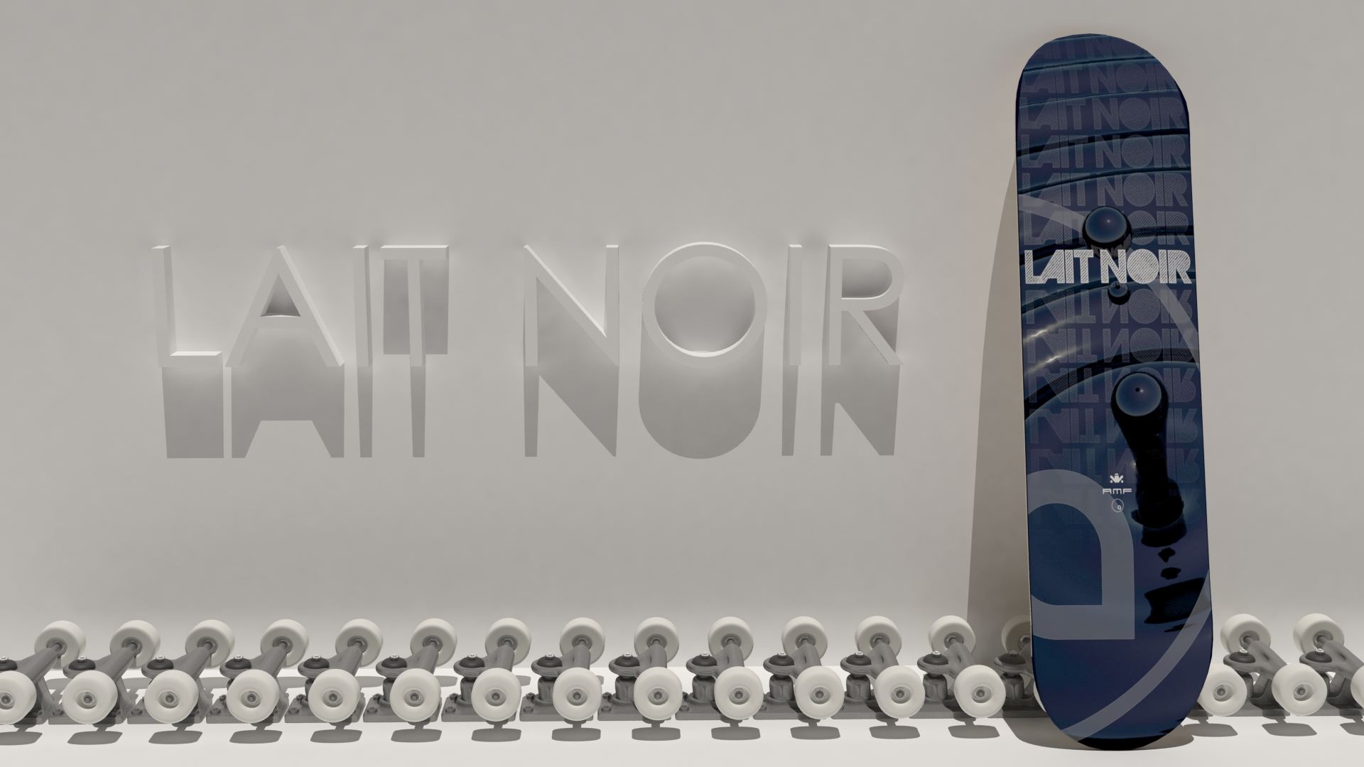 Lait Noir - Board Display