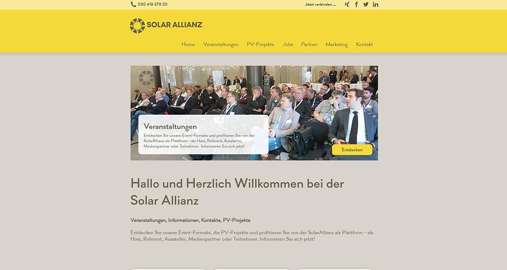 Homepage ist online und die Webanalyse ist eingerichtet
