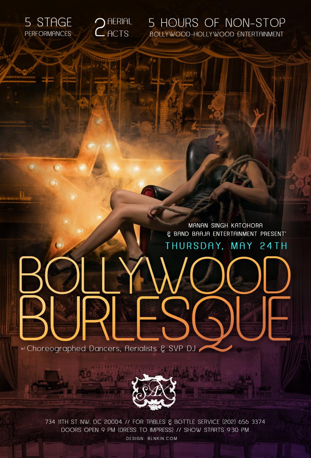 BollywoodBurlesque May 2018